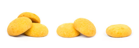 Lemon cookie sweets Stock Image