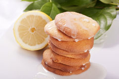 Lemon cookies Stock Photo