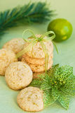 Lemon cookies Stock Image