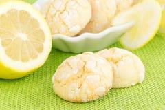 Lemon cookies Royalty Free Stock Photo