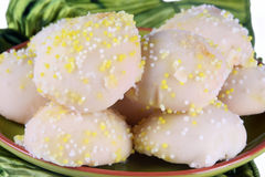 Lemon Cookies Royalty Free Stock Images