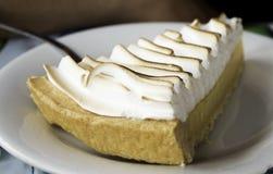 Lemon and cream cake Royalty Free Stock Image