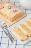 Lemon Cream Cheese Cake Royalty Free Stock Photos