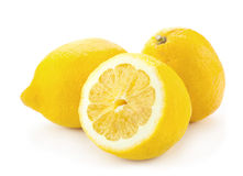 Lemon cross part Royalty Free Stock Photography