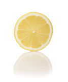 Lemon cross section Royalty Free Stock Photography