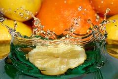 Lemon crown Royalty Free Stock Photography