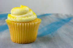 Lemon Cupcake Royalty Free Stock Photography