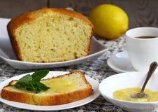 Lemon cupcake Royalty Free Stock Photos