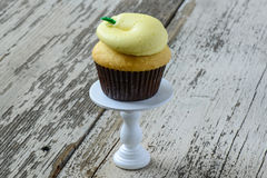 Lemon Cupcake Royalty Free Stock Images