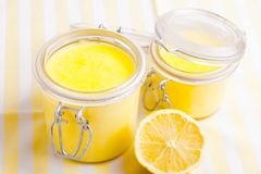 Lemon curd Stock Image