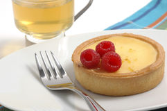 Lemon Curd Tart Royalty Free Stock Images