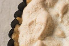 Lemon curd tart Stock Image