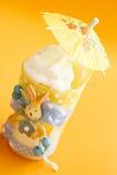 Lemon curd trifle Royalty Free Stock Photo