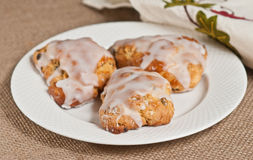 Lemon Currant Scones Royalty Free Stock Images