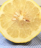 Lemon in a cut Stock Photo