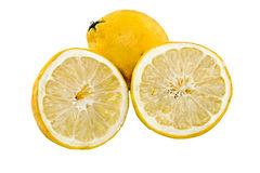 Lemon cut Royalty Free Stock Photography