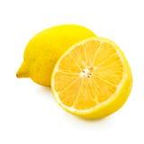 Lemon. Cut on white background Stock Photography