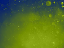 Lemon deep sea abstract bokeh background and texture Stock Images