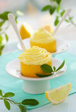 Lemon dessert Royalty Free Stock Photography