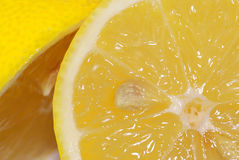 Lemon detail. Stock Image