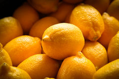 Lemon Detail stock image