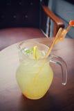 Lemon drink Royalty Free Stock Photos
