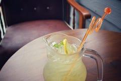 Lemon drink Royalty Free Stock Photo