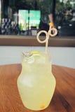 Lemon drink Stock Photography