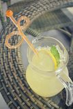 Lemon drink Stock Photos