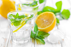 Lemon drink Royalty Free Stock Images