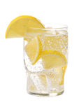 Lemon drink on a white background. Isolated Royalty Free Stock Photos