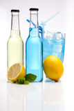 Lemon drinks Stock Photography