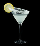 Lemon Drop Martini Cocktail Stock Photos