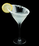 Lemon Drop Martini Cocktail Royalty Free Stock Images