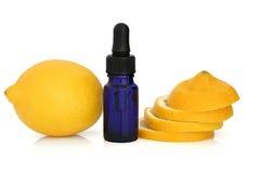 Lemon Essential Oil Stock Photos