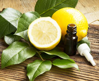 Lemon Essential Oil Royalty Free Stock Photo