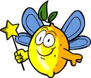 Lemon fairy Stock Image