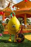 Lemon Festival (Fete du Citron) on the French Riviera. Menton, France- February20, 2015 Stock Images