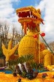 Lemon Festival (Fete du Citron) on the French Riviera. Menton, France- February20, 2015 Stock Photography