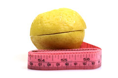 Lemon and fittness Royalty Free Stock Photography