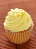 Lemon flavored Cupcake Stock Images