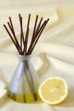 Lemon fragrance Stock Photos