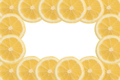 Lemon frame Royalty Free Stock Photo