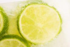 Free Lemon Frozen In Ice Cube Stock Photo - 138366170