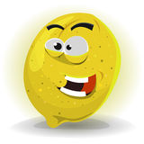 Lemon Fruit Character Royalty Free Stock Images