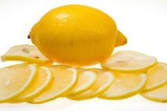Lemon fruit isolated Stock Photography