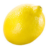 Lemon. Fruit isolated on a white. Stock Photo