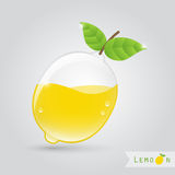 Lemon fruit juice Royalty Free Stock Images