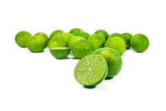 Lemon. Fruit lime citrus green fresh Stock Photo
