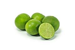 Lemon. Fruit lime citrus green fresh Stock Image